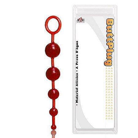 BUTTPLUG - Anal Beads com 5 Bolinhas