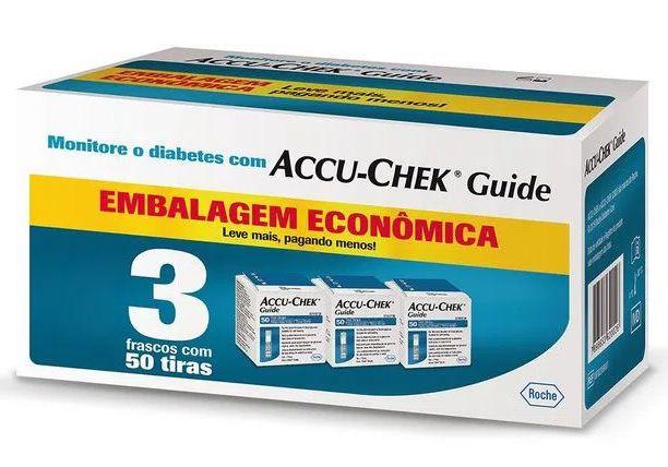 Accu-Chek Guide 150 Tiras - Economy