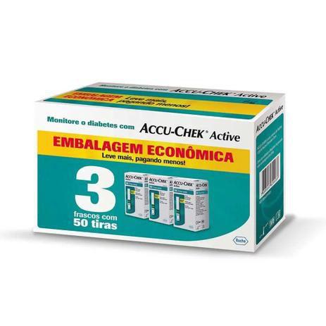 Accu-Chek Active 150 Tiras - Economy