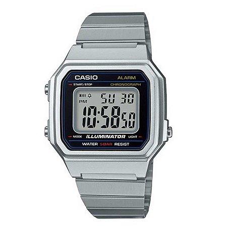 Relógio Casio Vintage Retro B650W Modelo Grande
