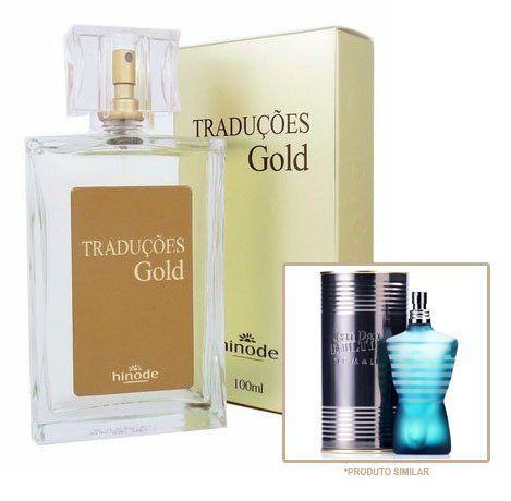 Perfume Masculino Hinode Traduções Gold nº6 (Fragrancia Do LeMale) 100Ml