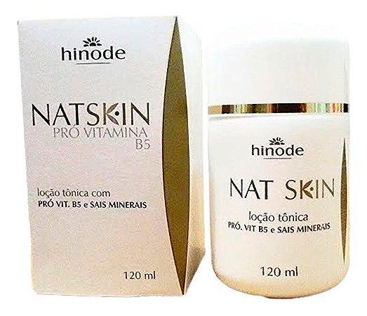 Loção tônica para limpeza de pele com PRÓ VIT. B5 e sais minerais 120ml