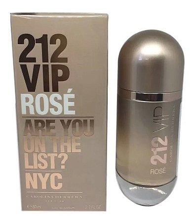 Perfume Importado Feminino 212 Vip Rose De Carolina Herrera
