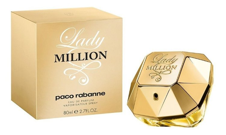 Perfume Importado Feminino Lady Million De Paco Rabanne