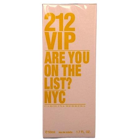 Perfume importado 212 VIP feminino contratipo 50ml –  promoção