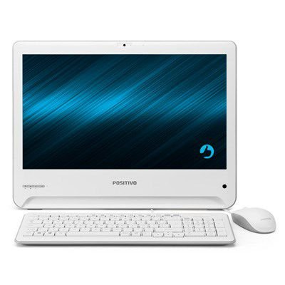 All In One Positivo Union UDI3150, Proc Celeron, Mem 4GB, HD 500GB, Led 18.5
