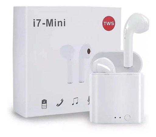 Fones De Ouvido sem fio com Bluetooth I7s Mini Tws Android Ios Airpod