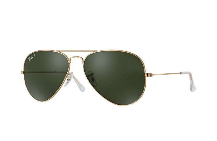 RAY-BAN 3025L  AVIATOR LARGE METAL  001/58  POLARIZADO