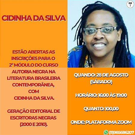 2o Módulo Curso Autoria Negra na Literatura Brasileira Contemporânea