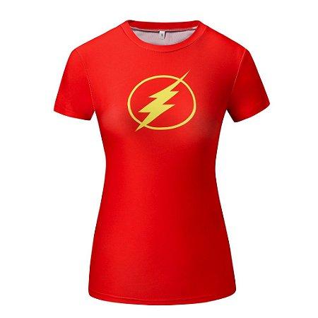 fd2b41569119e Camiseta de Compressão Flash Top Feminina Fitness - eCompra Brasil