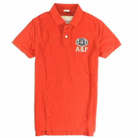 Polo Abercrombie & Fitch Masculina Bartlett Ridge - Orange