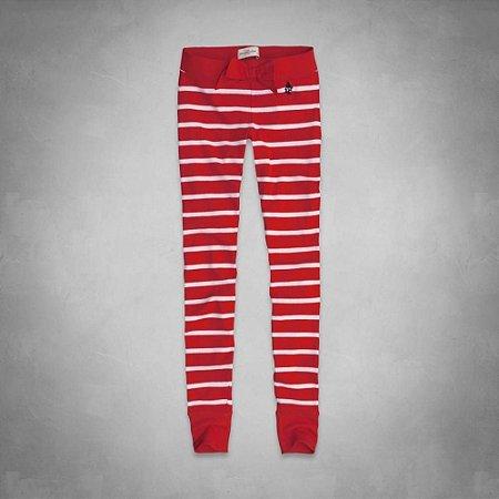 Calça Abercrombie & Fitch Feminina Katrina Sleep - Red