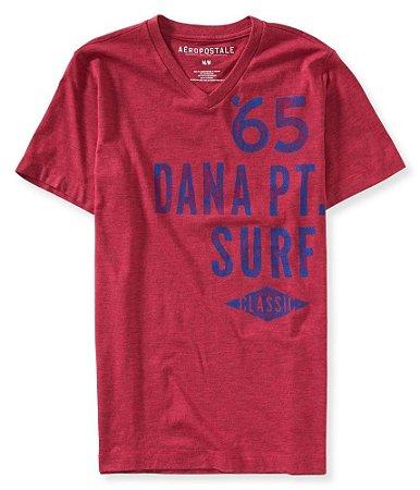 Camiseta Aéropostale Masculina Dana Point 65 - Pink Force