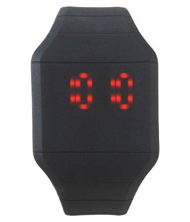Relógio Masculino LED Touch Sport - Black