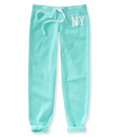 Calça Aéropostale Feminina Aero NY Sweat - Aquatic Blue