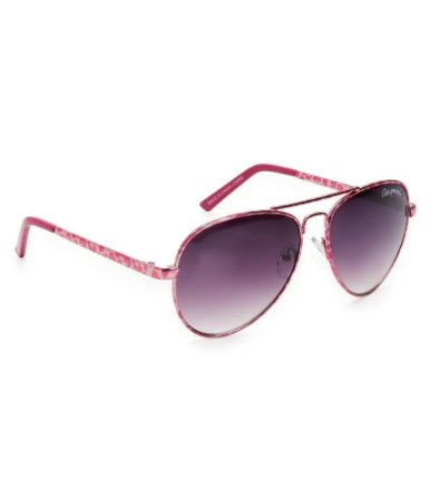 Óculos Aéropostale Metallic Leopard Aviator - Pink