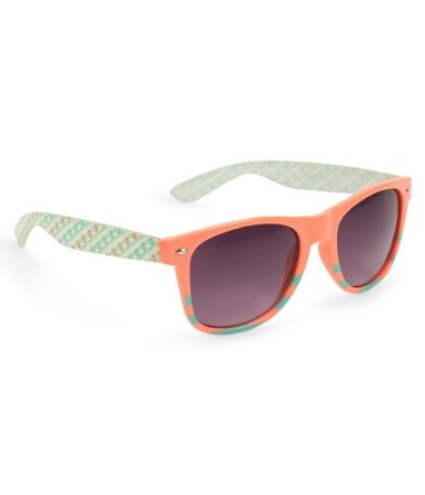 Óculos Aéropostale Anchor Striped Wayfarer - Pink