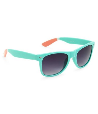 Óculos Aéropostale Colored-Tip Wayfarer - Aquatic Blue