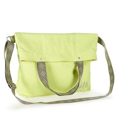 Bolsa Aéropostale Feminina Fold-Over Canvas Tote - Green
