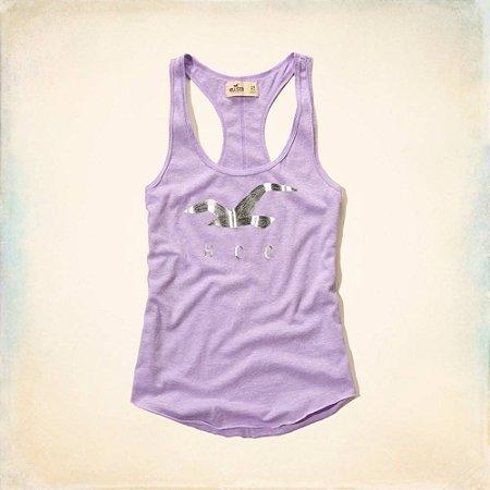 Blusinha Hollister Feminina Desert Spring Tank - Lilac