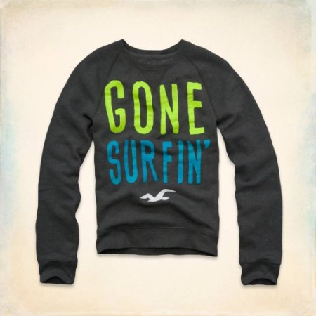 Sweatshirt Hollister Masculina Dana Strands - Gone Surfing