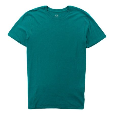 Camiseta Armani Exchange Masculina Crew Neck Tee - Teal Smoke