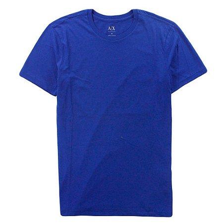 Camiseta Armani Exchange Masculina Crew Neck Tee - Ultramarine