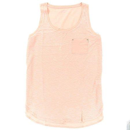 Blusinha Calvin Klein Feminina Accent Tank - Peach