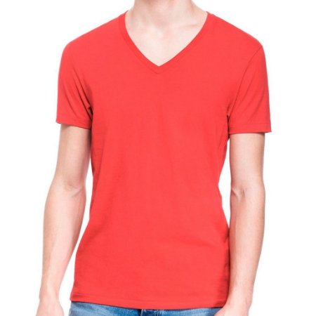 Camiseta Armani Exchange Masculina V-Neck Tee - Red