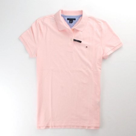 Polo Tommy Hilfiger Feminina Classic Piquet - Light Pink
