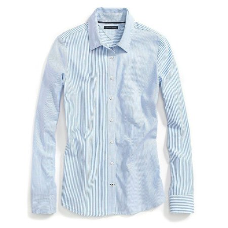Camisa Tommy Hilfiger Feminina Favorite Oxford - Light Blue