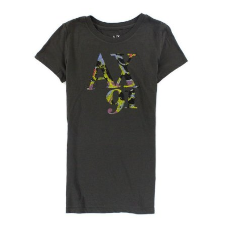 Camiseta Armani Exchange Feminina AX 91 Tee - Grey