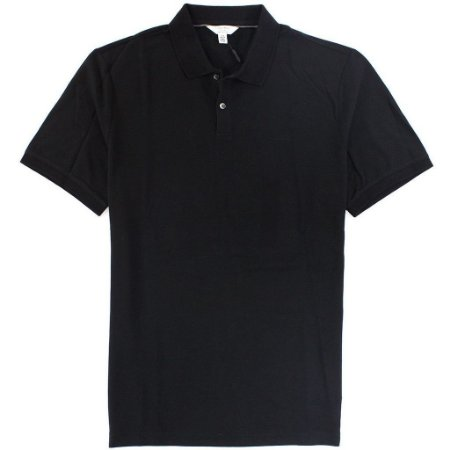 Polo Calvin Klein Masculina Classic Fit Cotton Polo - Black