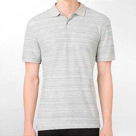 Polo Calvin Klein Masculina Classic Fit Polo - Grey