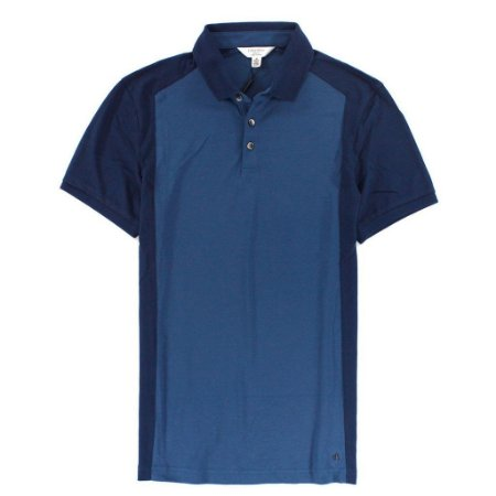 Polo Calvin Klein Masculina Colorblock  Polo - Blue