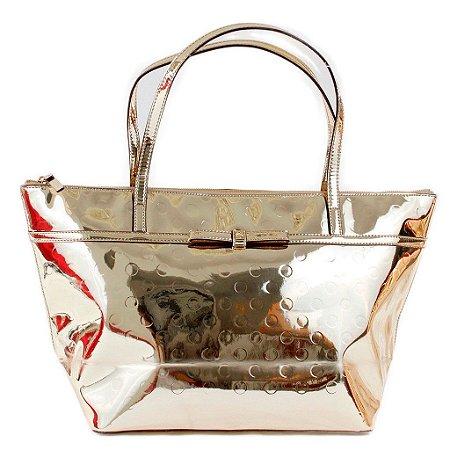 Bolsa Kate Spade Sophie Camellia Street Bag - Gold