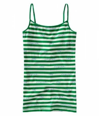 Blusinha Aéropostale Feminina Striped 1987 Dorm Cami - Fairway