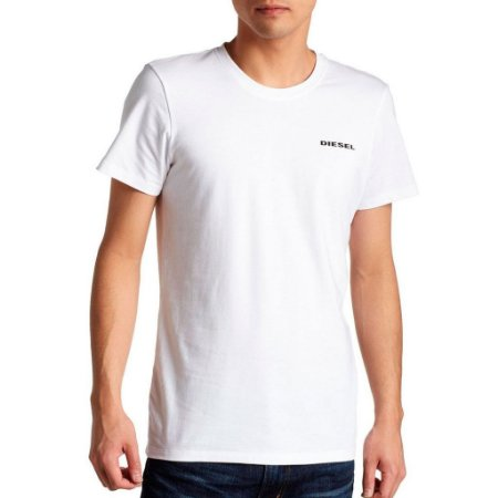 Camiseta Diesel Masculina Randal Tee - White