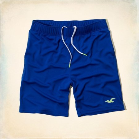 Bermuda Hollister Masculina Sport 4way Str - Blue