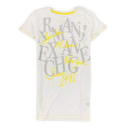 Camiseta Armani Exchange Feminina Since 1991 - Yellow