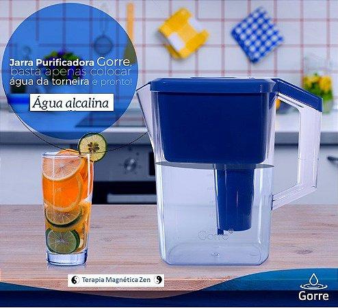 Jarra Gorre Magnética & Photon Turmalina, ela filtra e alcaliniza.