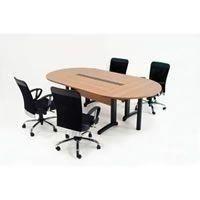 Mesa reunião Oval (com sistema de eletrificação) AM / Gênius
