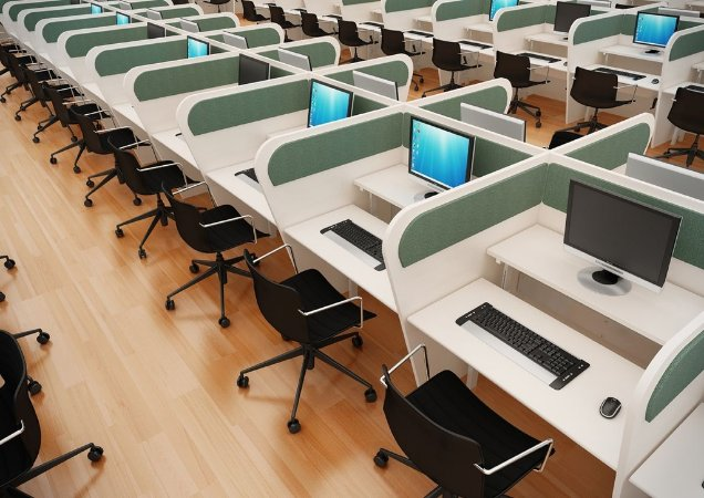 Ambiente Call Center AM 25 mm Frente e Verso