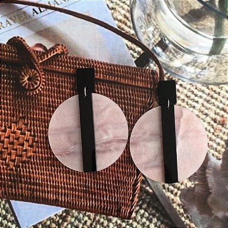 Brinco Ceres Champagne com Preto