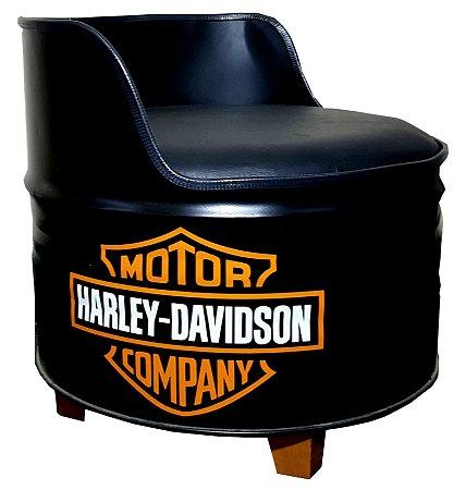 Poltrona de tambor - Harley Davidson