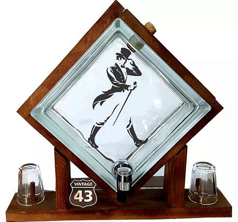 Pingometro de Bloco de vidro - Johnnie Walker