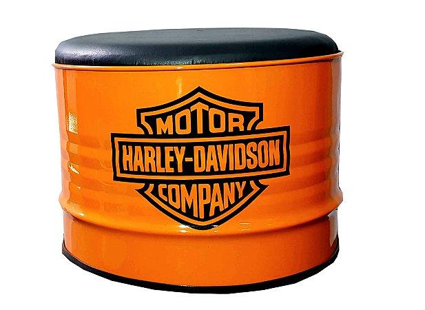 Puff de tambor - Harley Davidson