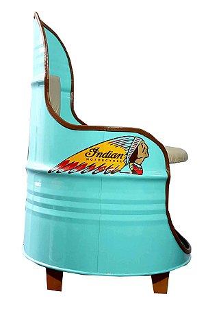 Poltrona de tambor - Indian
