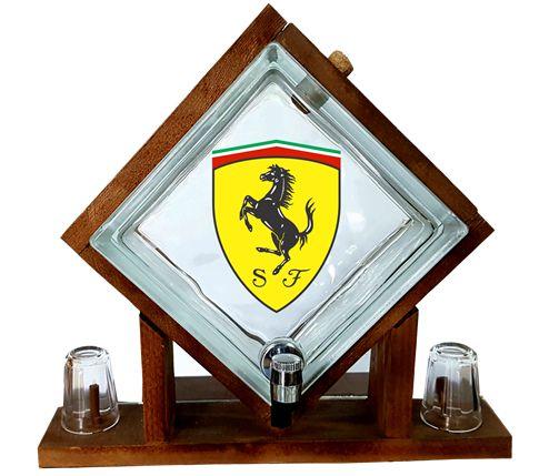Pingometro de Bloco -  Ferrari