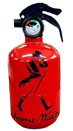 Extintor Cofre Johnnie Walker